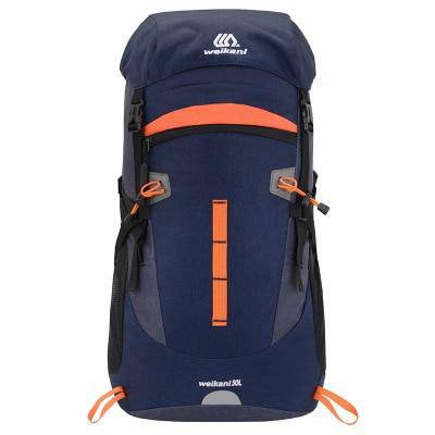 50L Tactical Mountaineering Bag Men Hiking Camping Backpack Night Reflection Outdoor Sports Travel Bag Fishing Trekking Rucksack - ZainO