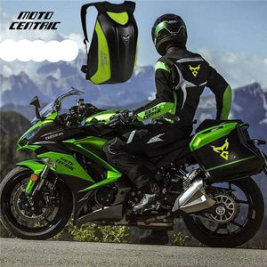 Black Men's Motorcycle Bag Waterproof Motorcycle Backpack Touring Luggage Bag Motorbike Bags Moto Magnetic Tank Bag mochila moto - ZainO