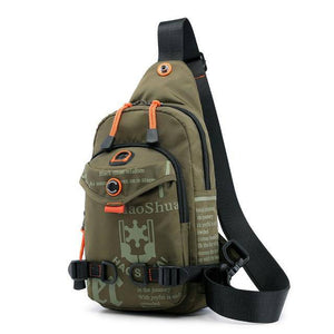 Chest Bag Rucksack Knapsack Brand Famous Travel Casual Male One Shoulder Bags Sling Backpack Daypack - ZainO