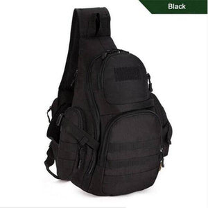 Military Bag Chest Sling Pack A4 One Single Shoulder Man Big Large Ride Travel Backpack Bag Advanced - ZainO