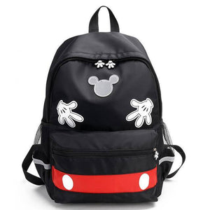 Disney new cartoon Mickey mouse Parent-child backpack boys school High capacity student  girls campus travel backpack - ZainO