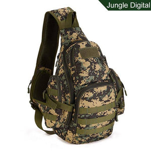 Military Sling Bags Camping Backpacks Molle Travel Bag Belt Single Shouder Assault Outdoor Sports Nylon Computer - ZainO