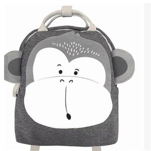 Children Backpack Toddler Kids School Bag Backpack For Baby Kids Cute School bag boy girl light Bag Rabbit Butterfly lion Bag - ZainO