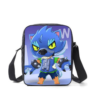 Leon Spike Shell Game School Bag for Teenager Boys Girls Kids Personized Schoolbag 3pcs sets Supplier Children Hot Game Backpack - ZainO