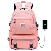 Load image into Gallery viewer, Yellow backpack children school bags for girls waterproof oxford large school backpack for teenagers schoolbag - ZainO