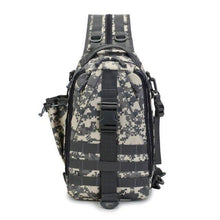 Load image into Gallery viewer, Outdoor Mountaineering Bag Multi-Functional Single-Shoulder Dual-Use Backpack Camouflage Tactical Bag Sports Chest Bag - ZainO