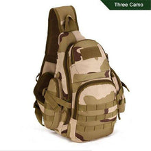 Load image into Gallery viewer, Military Bag Chest Sling Pack A4 One Single Shoulder Man Big Large Ride Travel Backpack Bag Advanced - ZainO