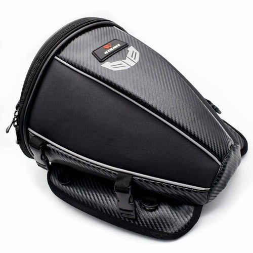 Waterproof Motorcycle backpack Tail tank Bag Multi-functional Leather Sports Motorbike Durable Rear Seat Bag mochila moto - ZainO