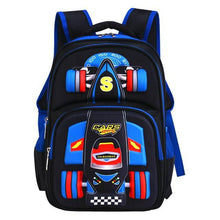 Load image into Gallery viewer, Trolley school bag orthopedics schoolbags for Boy Girl Children waterproof Teenager School Backpack Kids Student Backpacks - ZainO