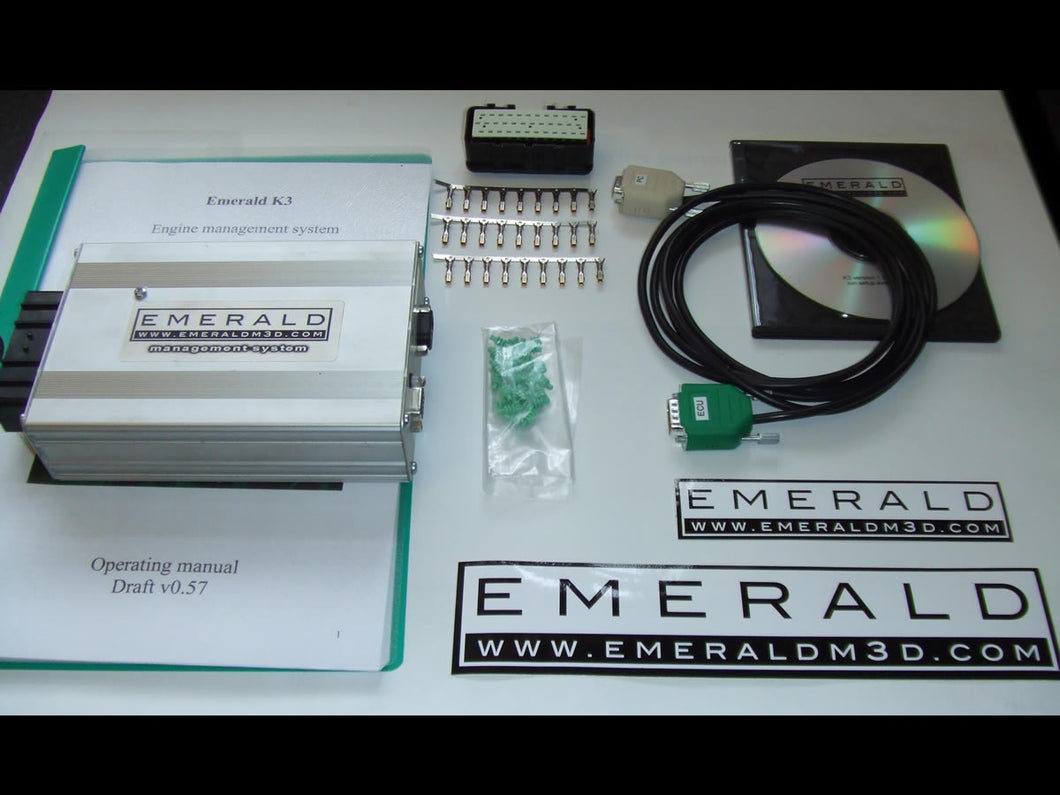Emerald K6 Plus ECU