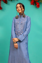 Load image into Gallery viewer, D520 DENIM KURTI