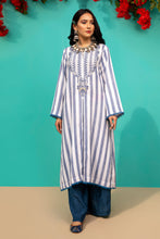Load image into Gallery viewer, D523 STRIPED KURTI