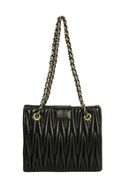 Load image into Gallery viewer, Double Chain Bag - Black