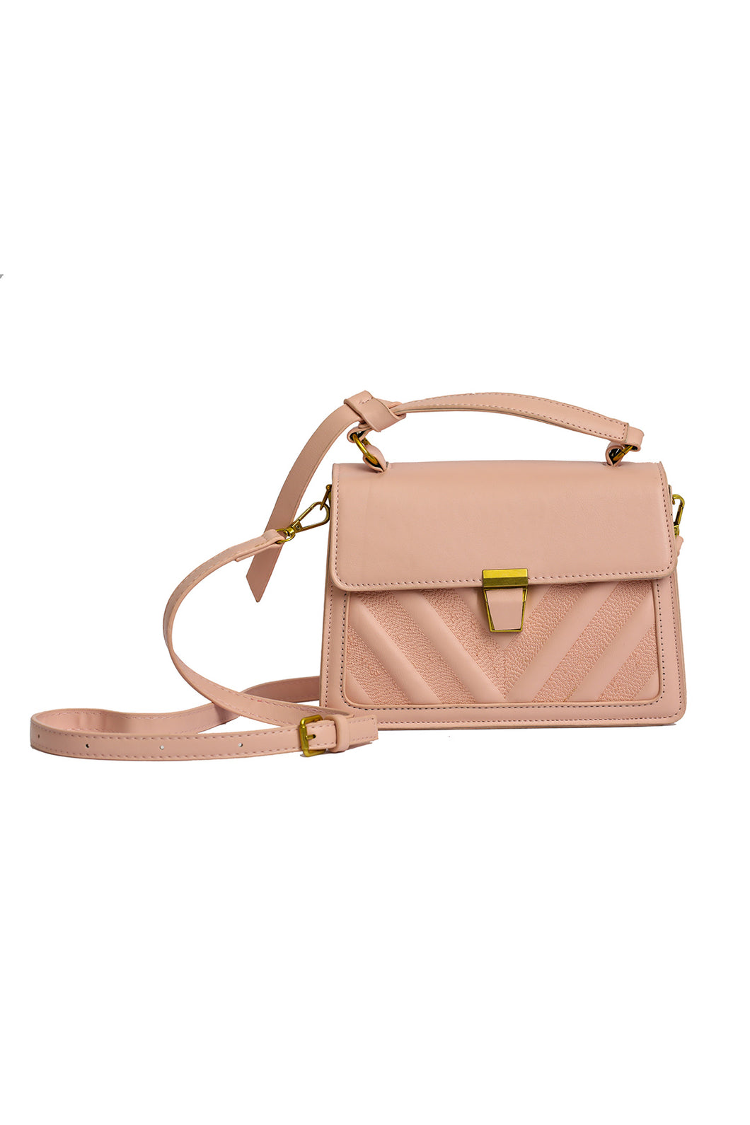Top Handle Bag - Pink