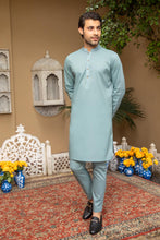 Load image into Gallery viewer, LM-1492 Suit Teal Blue