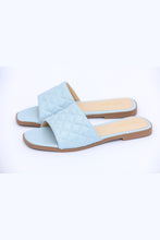 Load image into Gallery viewer, Pastel Passion Flats - Sky Blue