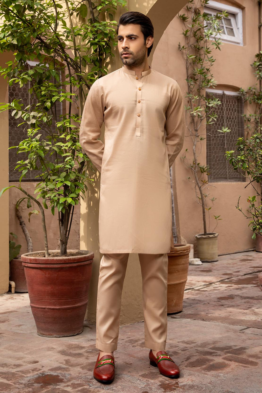 PM-1494 Suit Beige
