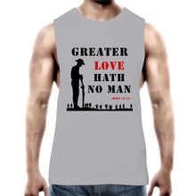 Load image into Gallery viewer, Greater Love Mens Tank Top