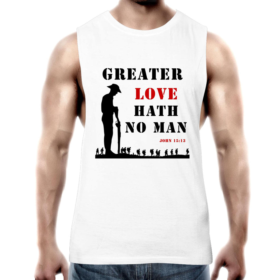 Greater Love Mens Tank Top
