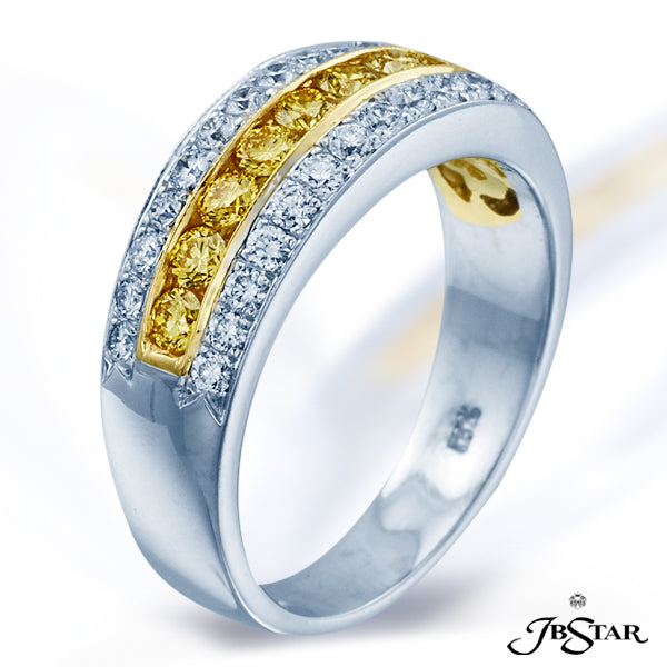 Fancy Color Diamond Band
