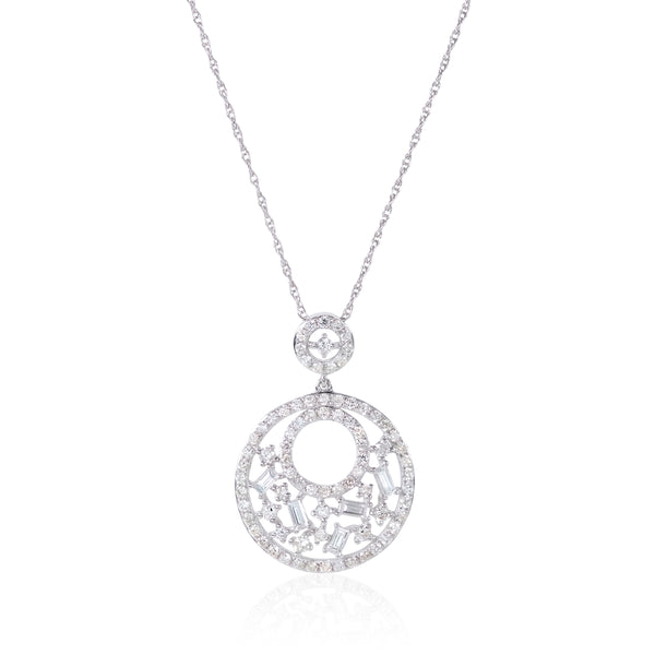 Cobblestone Pendant-diamonds