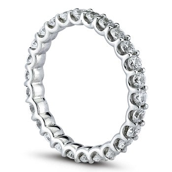 U style Eternity Ring