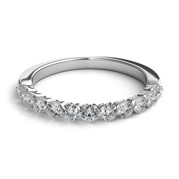 Eleven Stone Diamond Wedding Band