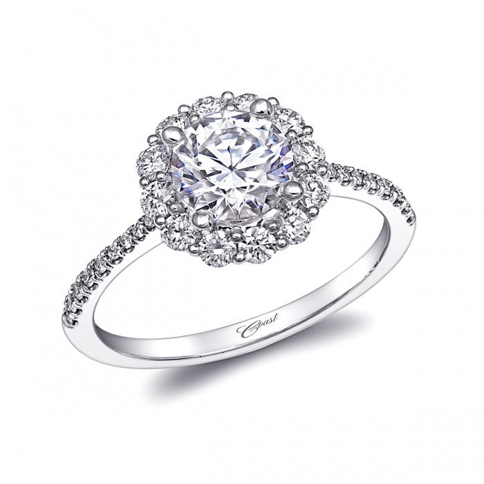 Diamond Engagement Ring - LC10311