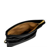 Black Carly Convertible Clutch