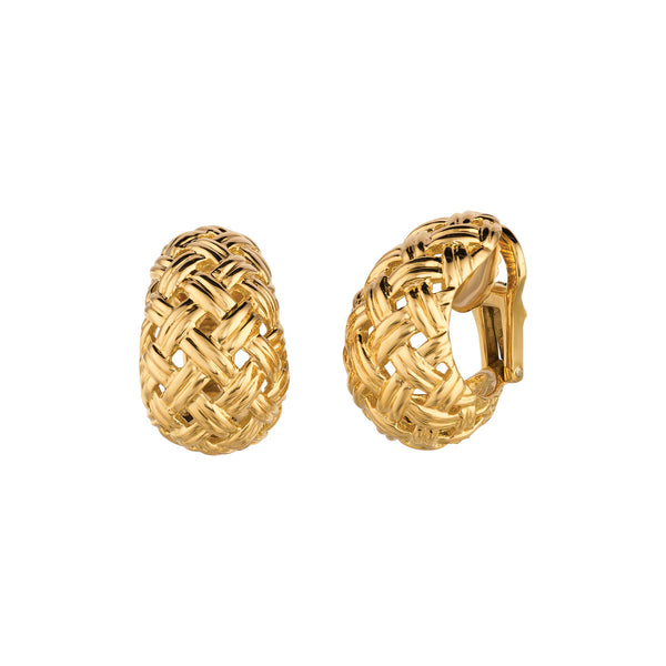 Vannerie Gold Earrings