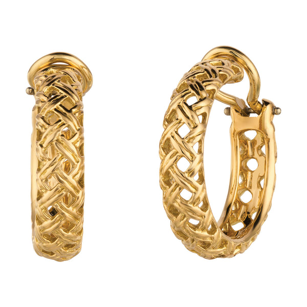 Vannerie Hoop Earrings