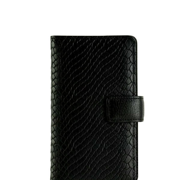 Black Embossed iPhone 6 Wallet Case