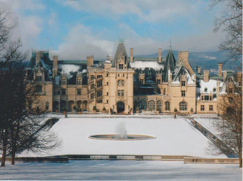 Winter at The Biltmore in Asheville, NC