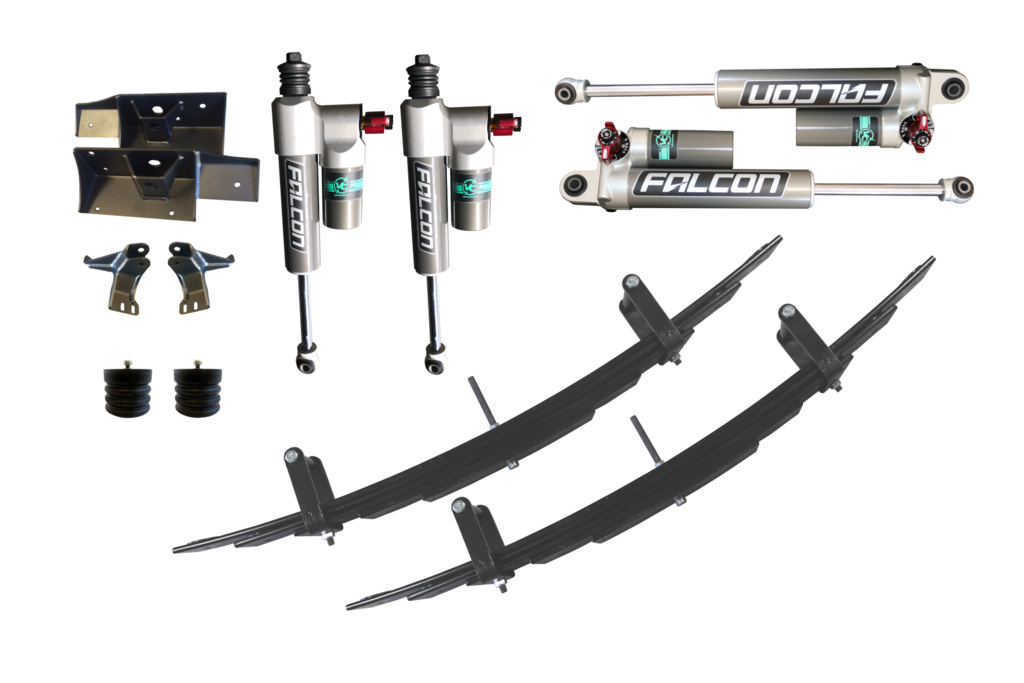 STAGE 4.3 - VAN COMPASS SUSPENSION PACKAGE VAN WITH FALCON 3.3 ADJUSTABLE SHOCKS - SPRINTER 4X4
