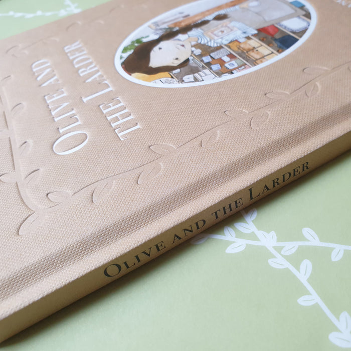 Olive and the Larder Limited-Edition Hardcover Book