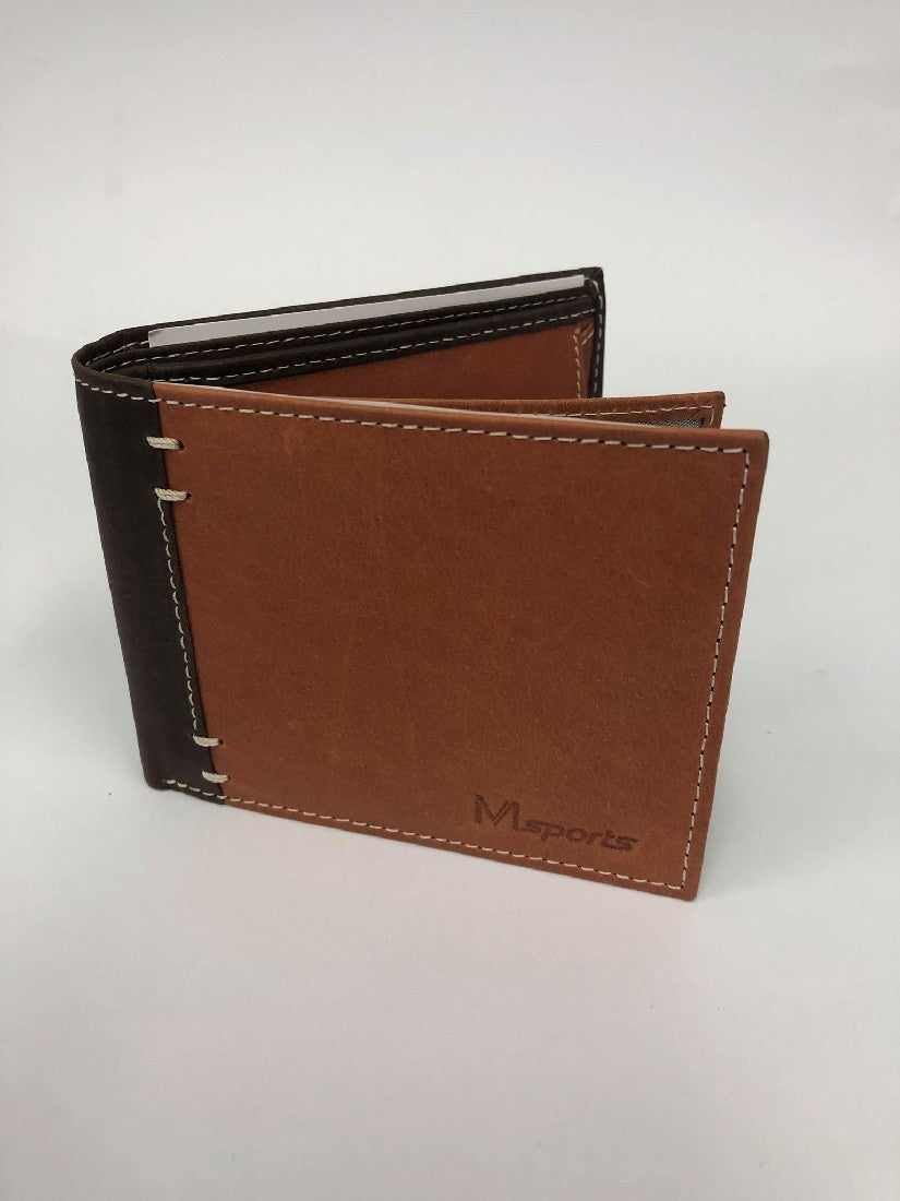 MS6 BROWN MENS SPORTS WALLET