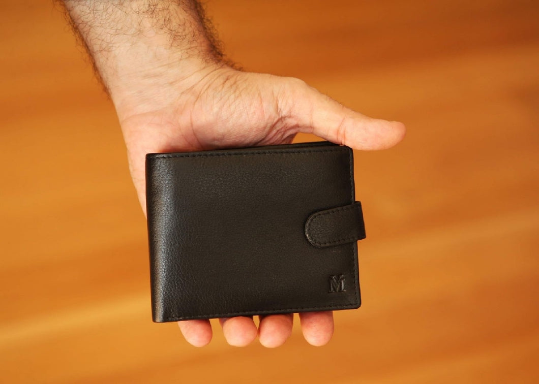 MW1 BLK MENS WALLET