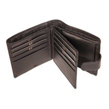 Load image into Gallery viewer, MW1 BLK MENS WALLET