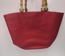 Load image into Gallery viewer, CAMILLA RED BEACH BAG