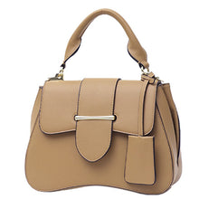 Load image into Gallery viewer, FREE TAUPE VEGAN LEATHER BAG
