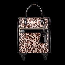 Load image into Gallery viewer, ONTARIO LEOPARD WEEKEND OVERNIGHT TROLLEY BAG