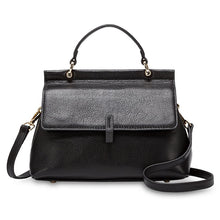 Load image into Gallery viewer, TENRIFE BLACK GENUINE LEATHER HANDBAG
