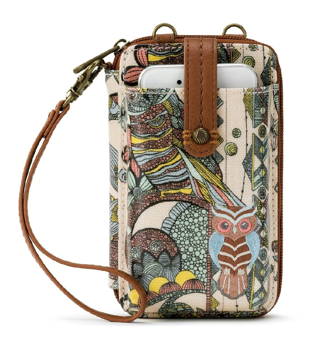 SUNSHINE SPIRIT DESERT N-S SMARTPHONE CROSSBODY PURSE
