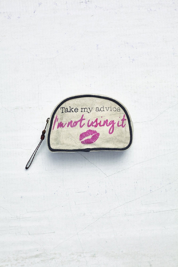 ADVICE MAKEUP BAG