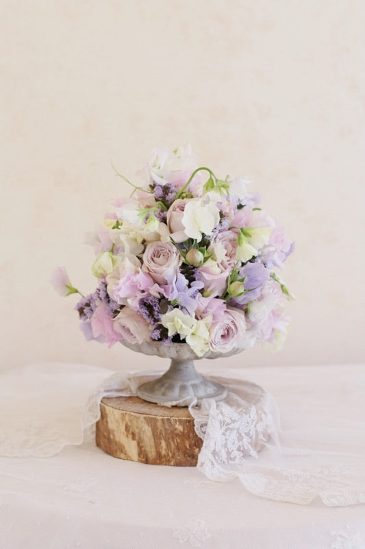 Sweet peas roses spring flower floral arrangement wall decor fine art photography
