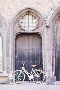 Bruges Belgium bicycle art photography wall art