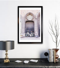 Load image into Gallery viewer, Bruges Belgium bicycle art photography wall art