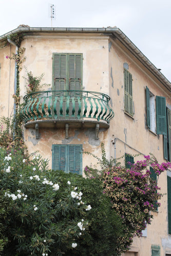 Italian house on the Italian riviera Ventimiglia