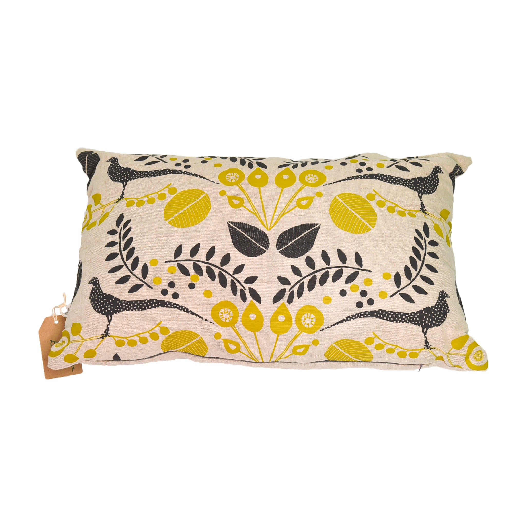 Woodland Pheasant Long Cushion