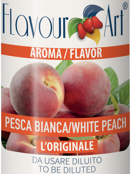 Flavour Art Peach White